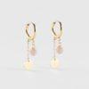 Zag Bijoux - Earrings Peach Moonstone