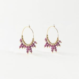 Zag Bijoux - Earrings Pink 2