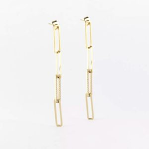 Zag Bijoux - Earrings Rectangles 2