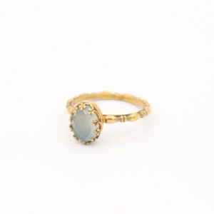 Gem Kingdom - Lizzy Ring GP Aqua Onyx 01