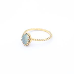 Gem Kingdom - Lizzy Ring GP Aqua Onyx 02