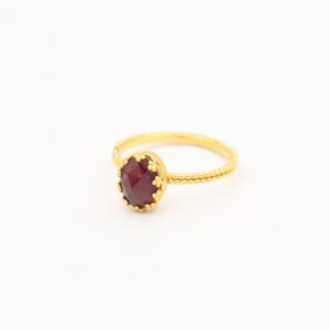 Gem Kingdom - Lizzy Ring GP Garnet