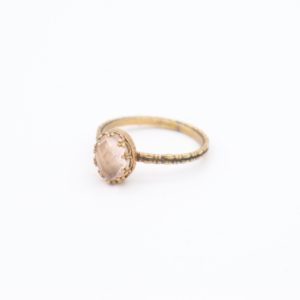 Gem Kingdom - Lizzy Ring GP Rosequartz 01