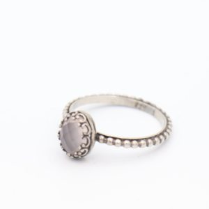 Gem Kingdom - Lizzy Ring Rosequartz Z