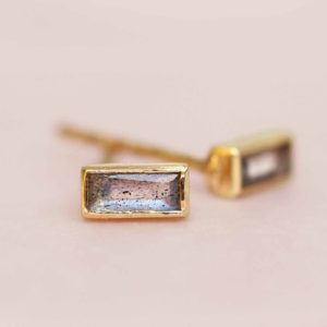 Muja Juma - Earrings Labradorite 1471gb2