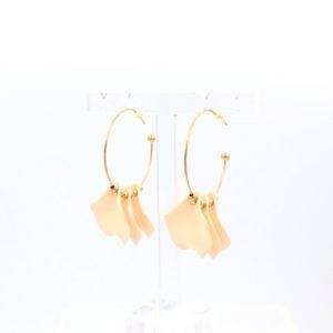 ZAG Bijoux - Earrings Nude