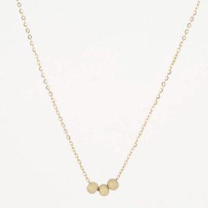 Zag Bijoux - Necklace 3 Balls cu 2