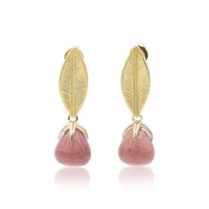 Callysta's Findings - Earrings Old Pink