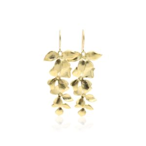 Callysta's Findings - Earrings Orchid