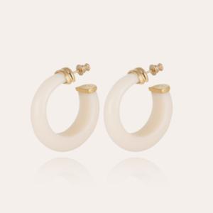 Gas Bijoux - Earrngs Abalone Cream