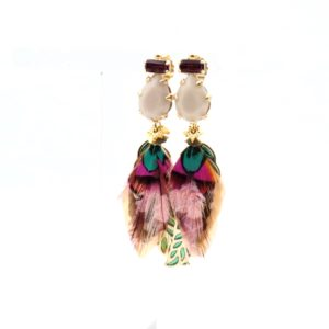 Gas Bijoux - Irene Plume Earrings