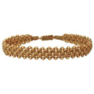 LeJu London - Bracelet Macrame 01