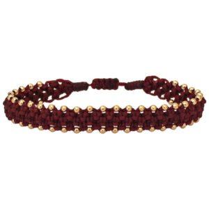 LeJu London - Bracelet Macrame 02