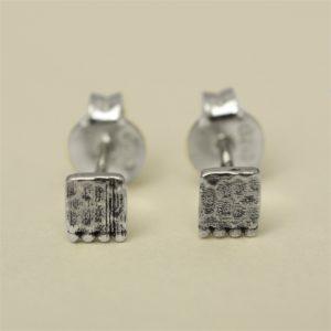 Muja Juma - Earrings Silver 1255sb