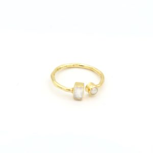Muja Juma - Ring Moonstone Pearl 2010gb1