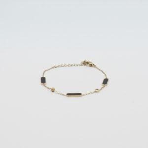 Zag Bijoux - Bracelet Black 02