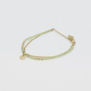 Zag Bijoux - Bracelet Grass Green Stones