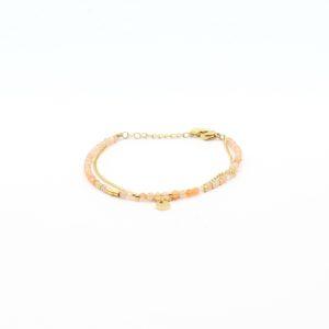 Zag Bijoux - Bracelet Peach Stones