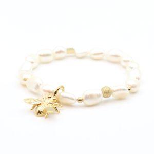 Zag Bijoux - Bracelet Pearls Bee