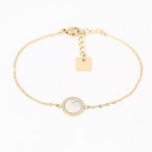 Zag Bijoux - Bracelet Round Mop