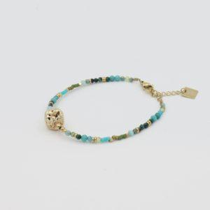 Zag Bijoux - Bracelet Turquoise Stones 4