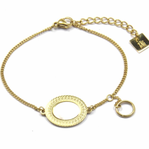 Zag Bijoux - Bracelet Mother of Pearl Oval