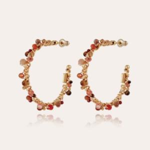 Gas Bijoux - Earrings Hoop Calliope