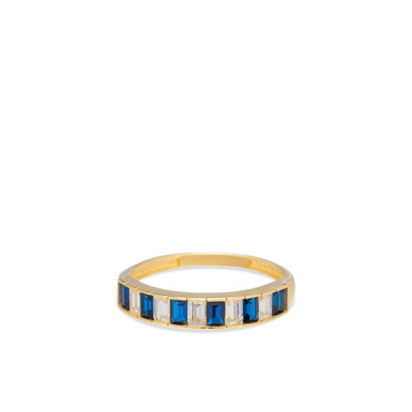 Swing Jewels - 14ct Ring Entourage Blue White RMDC01-2130-06