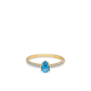 Swing Jewels - 14ct ring Happiness Blue RDC01-4420-04