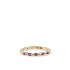 Swing Jewels - 14ct Ring Happiness Fuchsia RDC01-4384-02