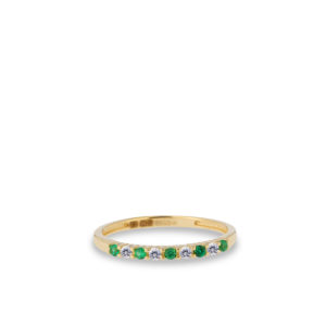 Swing Jewels - 14ct ring Happiness Green RDC01-4384-03