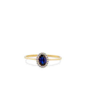 Swing Jewels - Entourage Ring Dark Blue RMDC01-1854-08-58