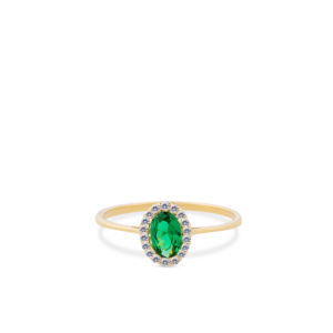 Swing Jewels - Entourage Ring Green RMDC01-1854-03