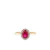 Swing Jewels - Entourage Ring Red RMDB01-1928-03