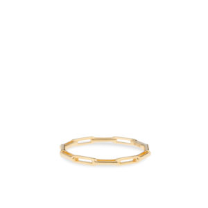 Swing Jewels - Paperclip Ring 14kct Gold