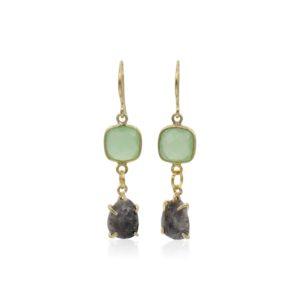Callysta's Findings - Earrings Agate Labradorite