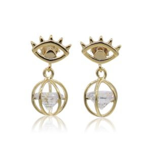 Callysta's Findings - Earrings Eye Bling