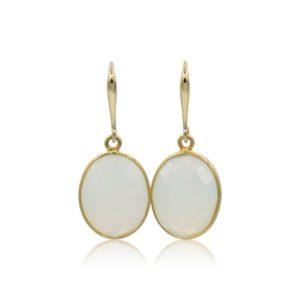 Callysta's Findings - Earrings Milky Stones