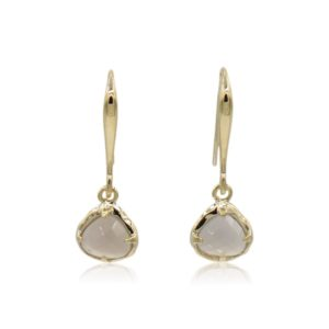Callysta's Findings - Earrings Mini Grey Agate