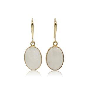 Callysta's Findings - Earrings Moonstone Oval