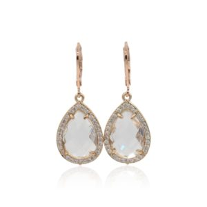 Callysta's Findings - Earrings Pave White