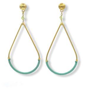 Gas Bijoux - Earrings Zanzibar Turquoise