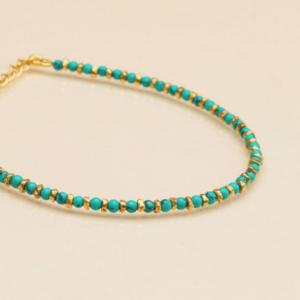 Une a Une - Bracelet Jaipur Turquoise
