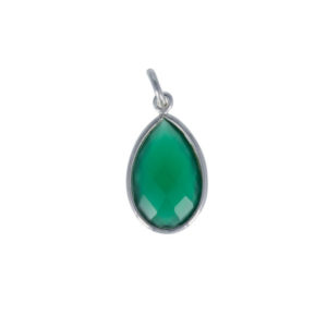 Coby van den Bor - Necklace Pendant Green Onyx PG09