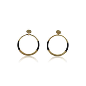 Gas Bijoux - Earrings Macao Black