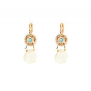 Satellite Paris - Earrings Cheyenne Light Yellow