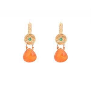 Satellite Paris - Earrings Cheyenne Orange