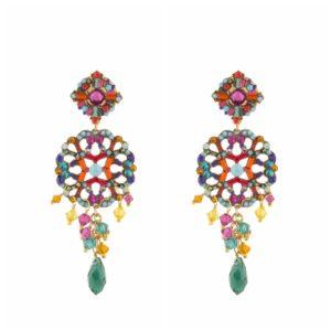 Satellite Paris - Earrings Chiara Multi