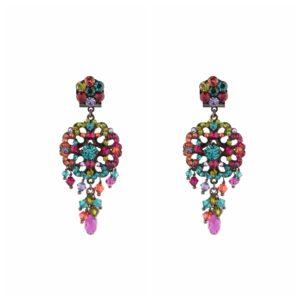 Satellite Paris - Earrings Chiara Multi Black