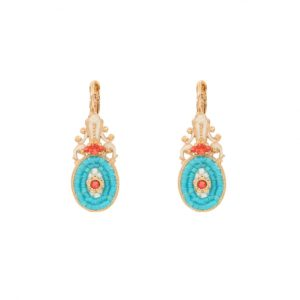 Satellite Paris - Earrings Rivage Blue